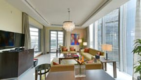 Presidential Suite-Living Office