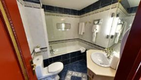 Deluxe Room-Bathroom