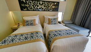 Grand deluxe - twin bed - pool view-2