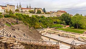 Ancient Theatre of Fourviere Odeon of Lyon