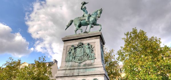 Equestrian Statue of William II
