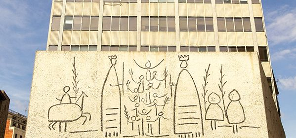 Frieze of the College of Architects