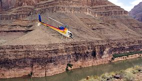 Helicopter Rides over Las Vegas and the Grand Canyon