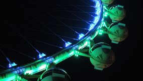 High Roller Ferris Wheel on the Linq