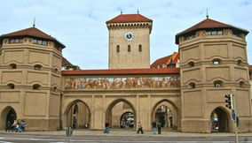 Isar Gate and Valentinmusaum