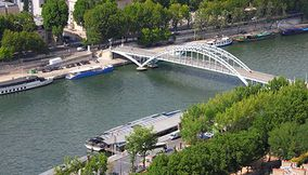 Passerelle Debilly Debilly Footbridge