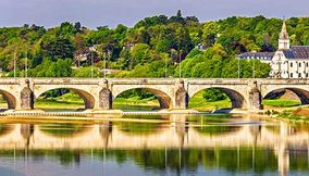 Pont Wilson on the Loire
