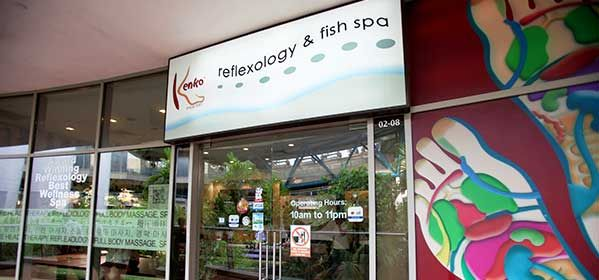 Reflexology and Fish Spa