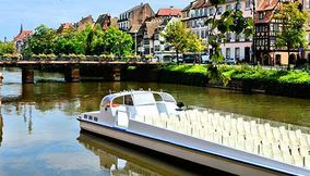 River cruise in Strasbourg