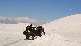Snowmobiling Ski Doo and ATV summer tours