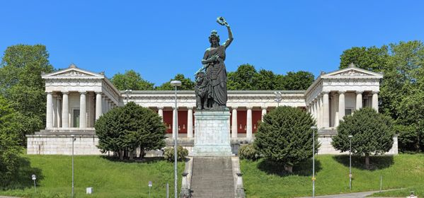 The Bavaria Statue and the Hall of Fame