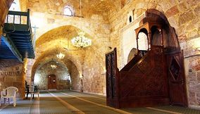 The Big Mosques and Churches in Tripoli