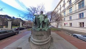 The Statue of Goethe
