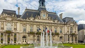 Town hall of Tours Hotel de Ville