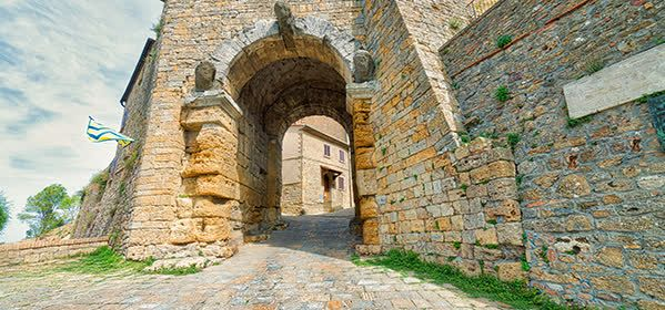 Things to do in Volterra -  Arco Etrusco (Etruscan Arch)