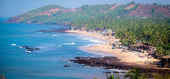Things to do in Goa - Anjuna Beach