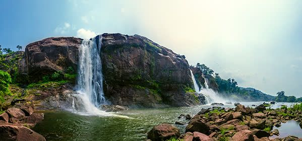 Things to do in Kerala - Athirappalli Waterfalls