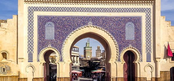Things to do in Fes - Bab Bou Jeloud