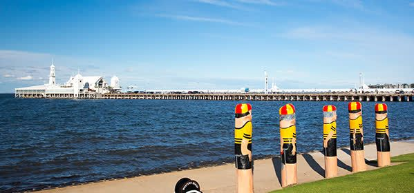 Things to do in Geelong - Baywalk Bollards