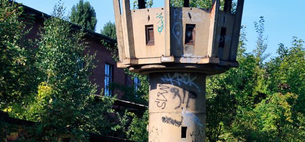 Things to do in Berlin - Berlin Wall Watchtower Erna-Berger - Strasse