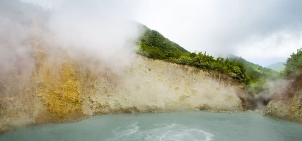 Things to do in Morne Trois Pitons National Park - Boiling Lake