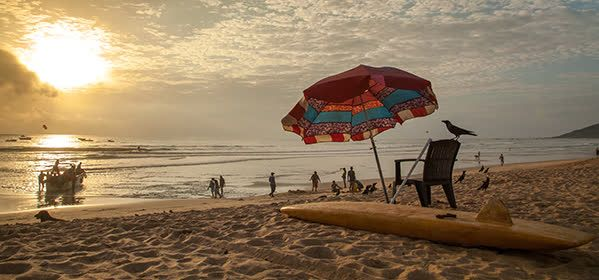 Things to do in Goa - Calangute Beach