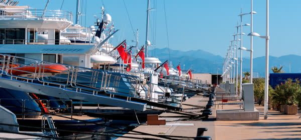Things to do in Antibes - Camille Rayon Wharf