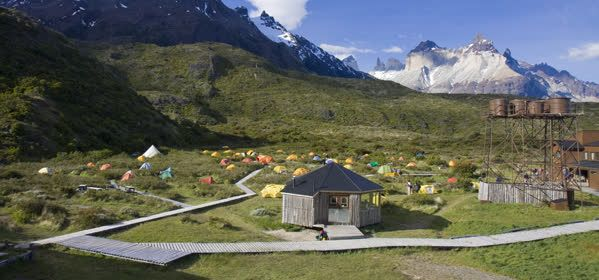 Things to do in Torres del Paine  - Camping Paine Grande