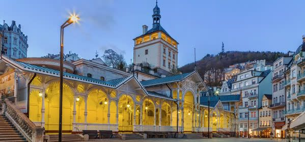 Things to do in Karlovy Vary - Castle Colonnade