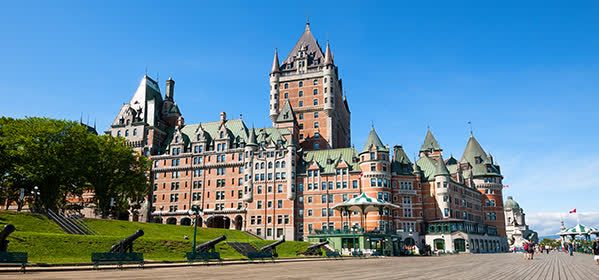 Things to do in Qebec City - Château Frontenac