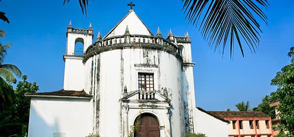 Things to do in Goa - Church of Our Lady of Rosary`