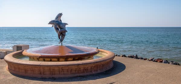 Things to do in Puerto Vallarta - Dolphin Fountain