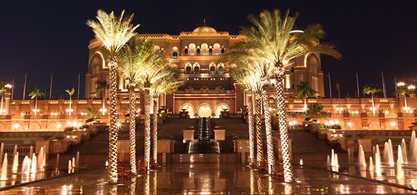 Things to do in Abu Dhabi - Emirates Palace