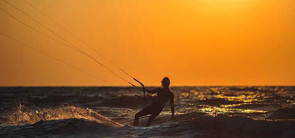 Things to do in Goa - Fishing Kite Boarding