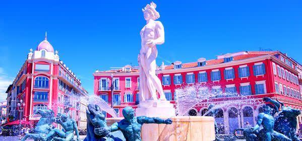 Things to do in Nice - Fontaine du Soleil