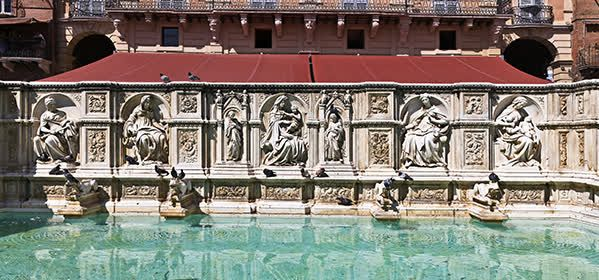 Things to do in Siena - Fonte Gaia