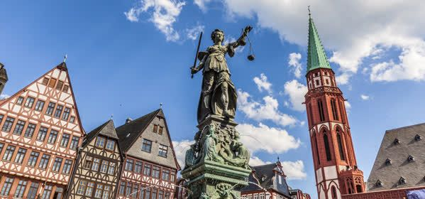 Things to do in Frankfurt - Fountain of Justice