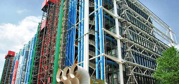 Things to do in Paris - Georges Pompidou Center