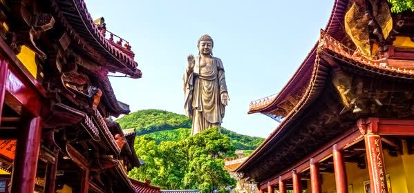 Things to do in Suzhou - Grand Buddha at Ling Shan