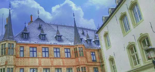 Things to do in Luxembourg City - Grand Ducal Palace Luxembourg