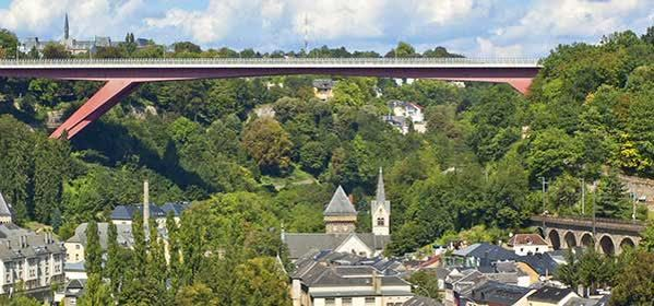 Things to do in Luxembourg City - Grand Duchess Charlotte Bridge