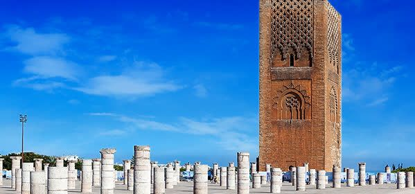 Things to do in Rabat - Hassan Tower