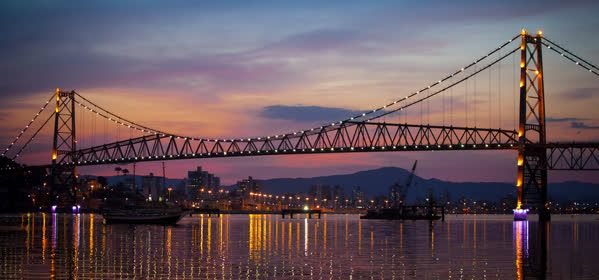 Things to do in Florianopolis - Hercílio Luz Bridge