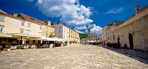 Things to do in Hvar  - Hvar Piazza