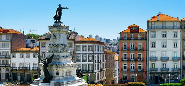 Things to do in Porto - Infante D. Henrique Plaza