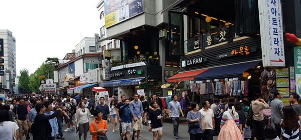 Things to do in Seoul - Insa Dong Street
