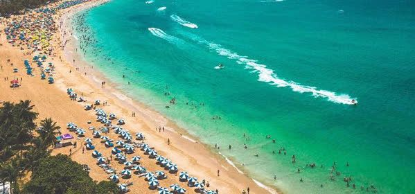 Things to do in Carolina - Isla Verde Beach