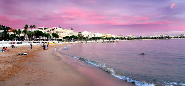 Things to do in Cannes - La Croisette Beach