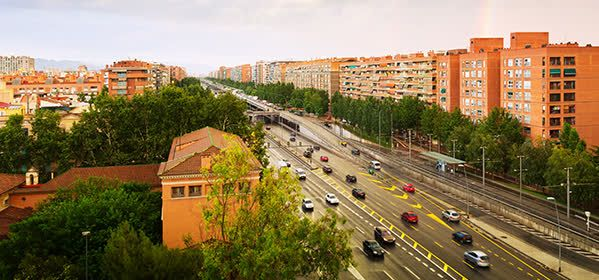 Les Corts - Pedralbes District