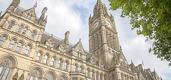 Things to do in Manchester - Manchester Town Hall